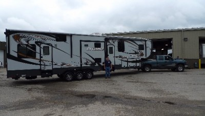 Scott of Marlette, BC with their Cyclone 3100