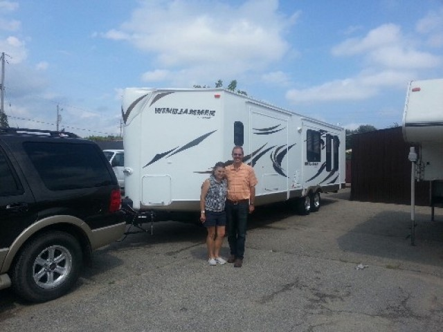 Stan of Fowlerville with their Windjammer 3001W