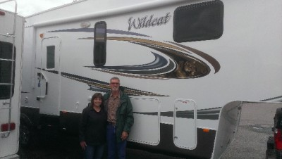 Steve of Clarksville, BC with their Wildcat 333MK