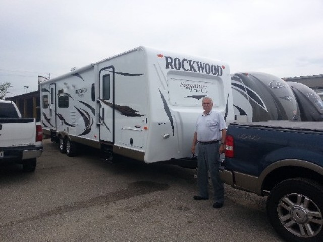 William V of Louisville with their Rockwood Signature Ultra Lite 8310SS