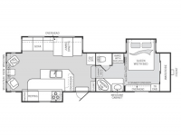 2002 Montana 3280RL Floor Plan