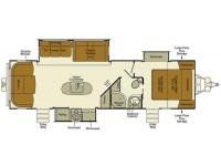 2015 Everlite 291RLS Floor Plan