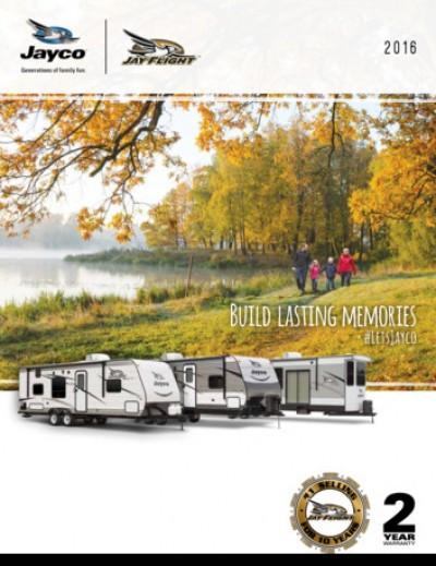 2015 Jayco Jay Series RV Brand Brochure Cover