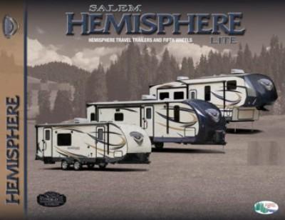 2016 Forest River Salem Hemisphere RV Brand Brochure Cover