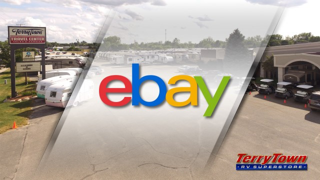 Terry Town RV Center Lot. Ebay Sale Feature