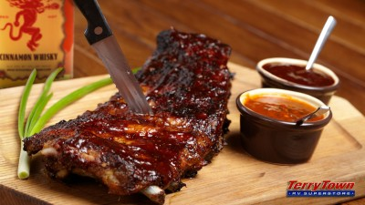 cinnamon whiskey bbq ribs