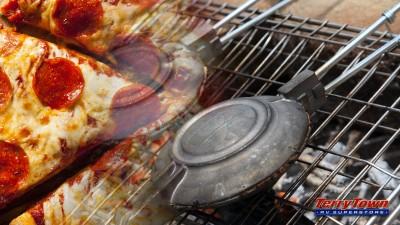 pie iron pizza