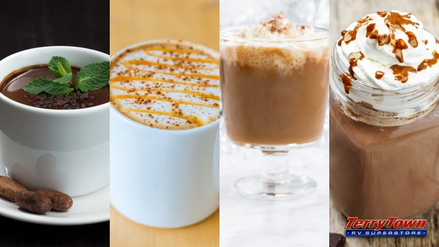 Try these different hot chocolate recipes this winter!