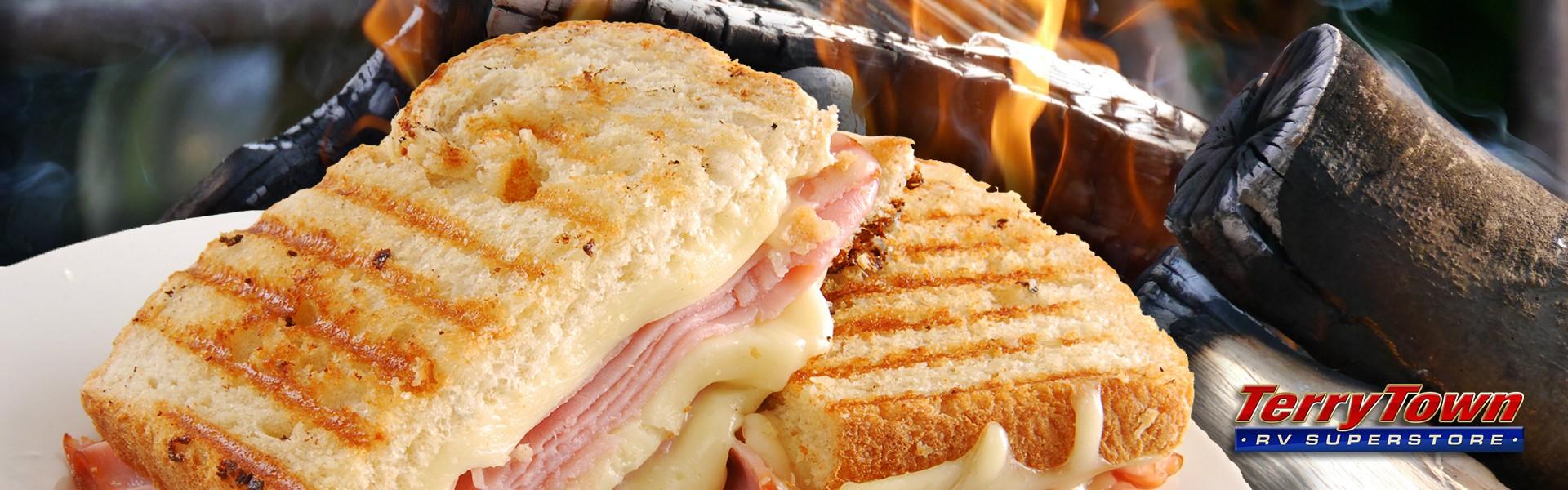 Campfire Hot Ham N Cheese Sandwiches Terrytown Rv Blog
