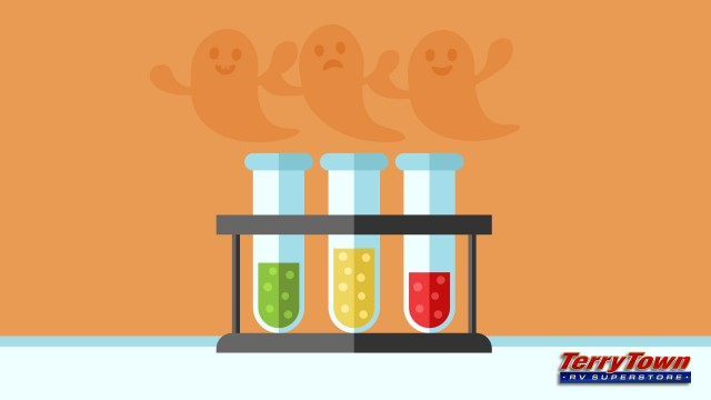 spooky ghost science experiment