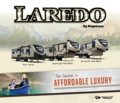 2017 Keystone Laredo RV Brand Brochure Cover