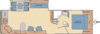 2017 Revere 29RK Floor Plan