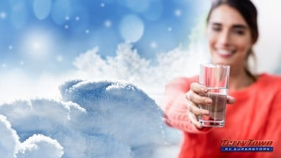 Turn snow into drinking water