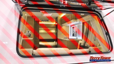 RV emergency window
