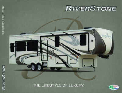2017 Forest River RiverStone RV Brand Brochure Cover