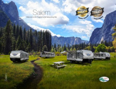 2017 Forest River Salem RV Brand Brochure Cover
