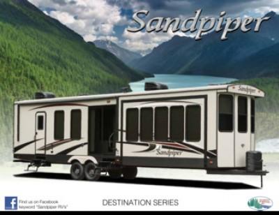 2017 Forest River Sandpiper Destination RV Brand Brochure Cover
