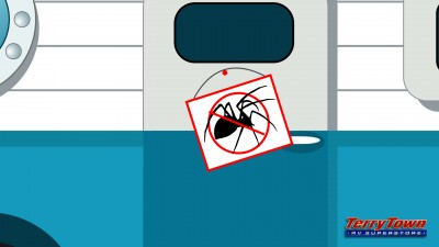 Keep spiders and insects out of your RV