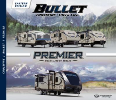 2017 Keystone Bullet Crossfire RV Brand Brochure Cover