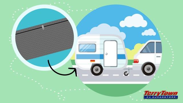 Bumper storage DIY for your RV