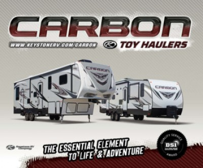2017 Keystone Carbon RV Brand Brochure Cover