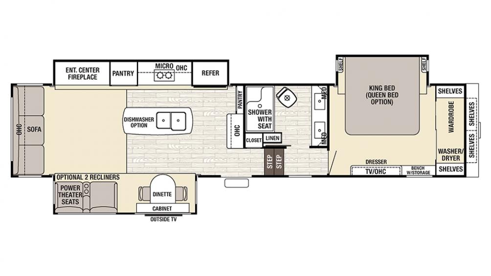 2017 Cedar Creek Fifth Wheel Floor Plans Thefloors Co