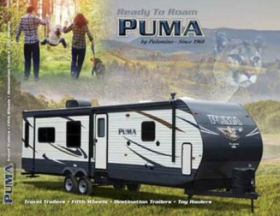 2017 Palomino Puma RV Brand Brochure Cover
