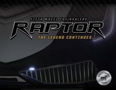 2017 Keystone Raptor RV Brand Brochure Cover