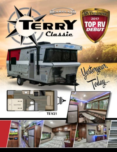 2018 Heartland Terry Classic RV Brand Brochure Cover