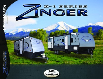 2017 CrossRoads Z-1 RV Brand Brochure Cover