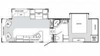 2007 Bristol Bay 3150RL Floor Plan