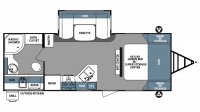 2018 Surveyor 243RBS Floor Plan