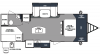 2018 Surveyor 247BHDS Floor Plan