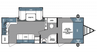 2018 Surveyor 251RKS Floor Plan