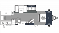 2018 Surveyor 295QBLE Floor Plan