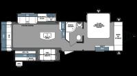 2018 Surveyor 33KRLOK Floor Plan