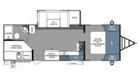 2018 Surveyor 248BHLE Floor Plan