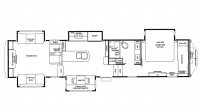 2019 RiverStone 37MRE Floor Plan