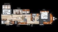 2018 Salem Villa Classic 426-2BLTD Floor Plan