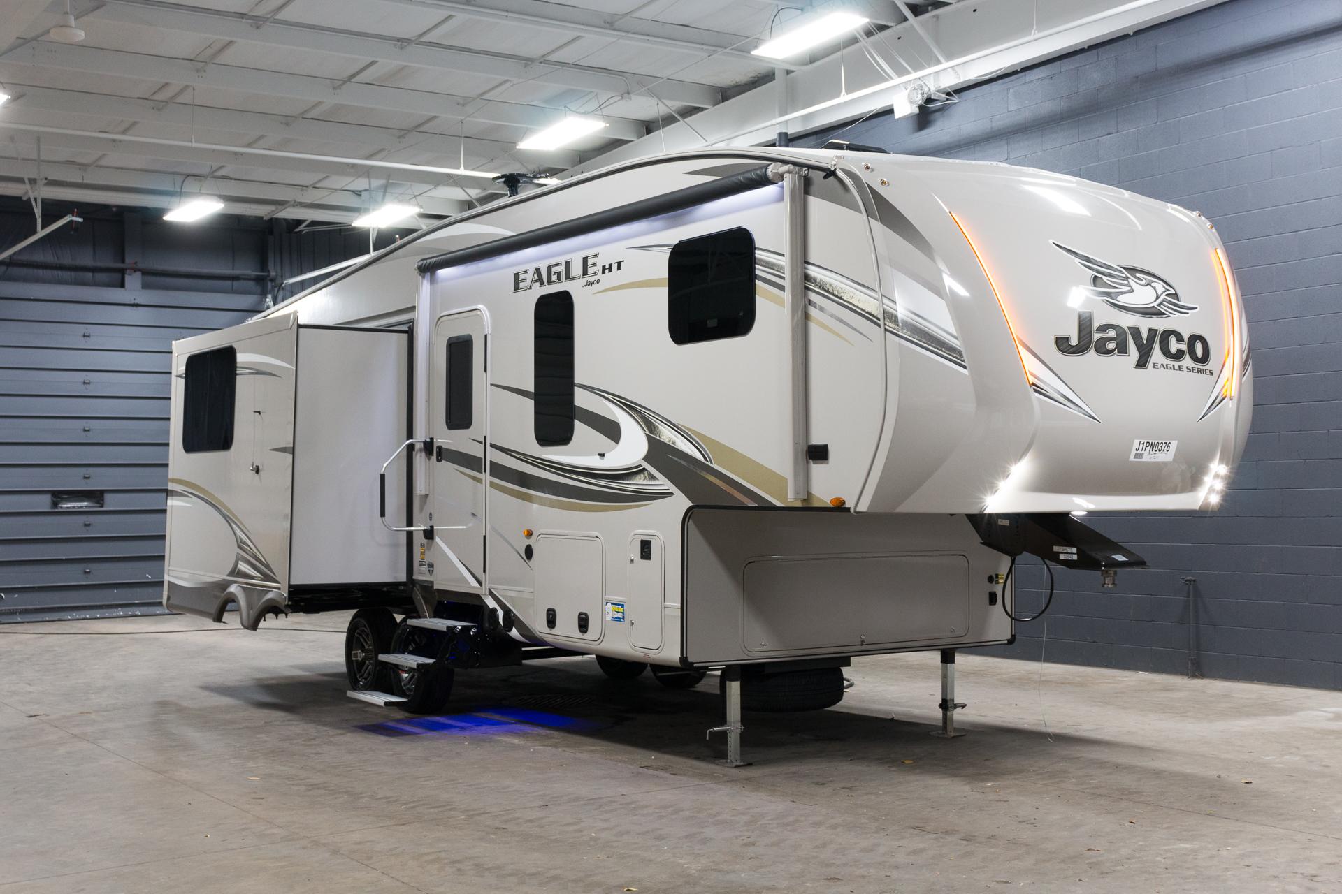Buy new 2018 eagle ht 27 5rlts luxury 5th wheel travel for Xyz motors grand rapids
