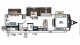 2018 Rockwood Ultra Lite 2909WS Floor Plan
