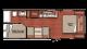2018 Capri 248BH Floor Plan