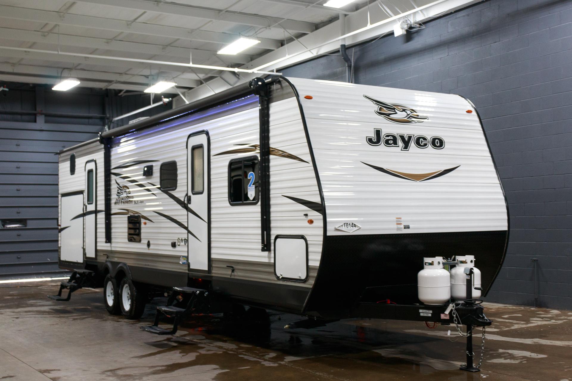 Buy new 2018 jayco jay flight slx 324bds bunk house camper for Xyz motors grand rapids