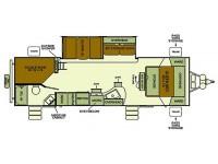 2014 I-GO 282BHDS Floor Plan