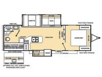 2015 Catalina 283RBKS Floor Plan