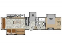 2015 Chaparral 360IBL Floor Plan