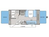 2015 Jay Feather SLX 16XRB Floor Plan
