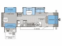 2015 Jay Flight 32TSBH Floor Plan