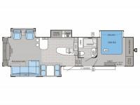2015 Pinnacle 36REQS Floor Plan