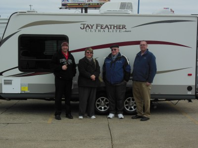 Merle Of Davison With Their Jay Feather Ultra Lite X19h